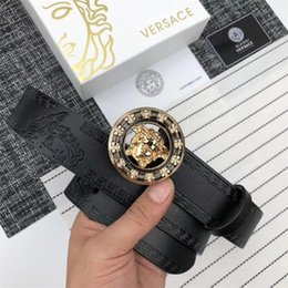 Wholesale 2019 Fashion High Quality black Real Leather Aollyt Smooth Buckle Belts Men Designer Belts Rt880 Style High Brand waistbands without box