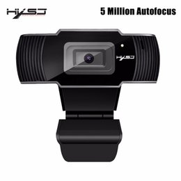 Discount video camera web - HXSJ webcam HD Camera 5 Million AF Camera HD web cam Support 1080P 720P for Video Conferencing and Android Smart TV T191