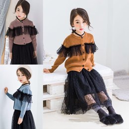 $enCountryForm.capitalKeyWord NZ - New Fashion Toddler Girls Fall Knitted Cardigan Jacket Clothes Baby Girls Winter Sweater Coat Korean Kids Sweater Clothes 2019