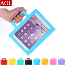 eva case for ipad NZ - Briefcase Style kids Safe Shockproof EVA Handle Tablet Case For new iPad air air2 pro 9.7 mini 1234 Samsung Tablet 7.0