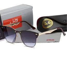 Product Brand Color Australia - Product detail Fashion Sunglasses Men Women Sun Glasses Brand Designer Justin Mirror Gafas de sol BOX