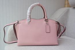 $enCountryForm.capitalKeyWord NZ - tender pink color sweet ladies style medium size large capacity square genuine leather suitable for lady shoulder designer brand handbag