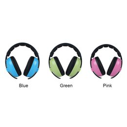 headphones ear pads Canada - Baby Kids Headphone Ear Protection Home Gift Outdoor Care Noise Canceling Boys Girls Padded Soft Earmuff Adjustable Headband