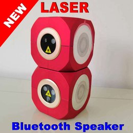 $enCountryForm.capitalKeyWord Australia - Small bag can Latest research and development Portable Bluetooth speaker laser light Outdoor music laser stage light Music laser KTV
