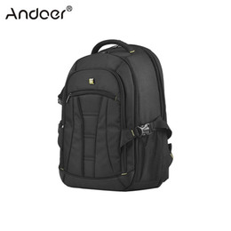 Dslr Cameras Bags Australia - amera Video Bags Andoer Professional Large Capacity DSLR Camera Backpack Waterproof Shockproof Travel Tablet Laptop Shoulder Bag w  Rain ...