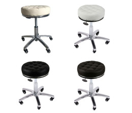 swivel chair stool Australia - Elitzia ET15505 Rolling Swivel Stool PU Leather Bar Chair Height Adjustable For Beauty Studio Barber Shop Beauty Salon