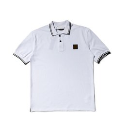 $enCountryForm.capitalKeyWord Australia - Mens Designer Polo Shirts with Letters Fashion Stone Brand Polos luxe for Men Casual Short-sleeve Summer Tops Tees Clothing M-2XL