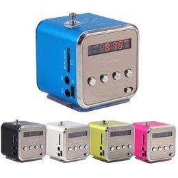 $enCountryForm.capitalKeyWord Australia - TD-V26 Mini Radio FM Digital Portable Speakers with FM Radio Receiver Support SD TF Card for Mp3 Music Player USB Charging