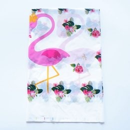 happy plastic UK - 1Pcs Disposable Plastic Table Cloth Cartoon Flamingos Theme Table Cover Tablecloth Kid Boy Girl Happy Birthday Party 180*108Cm Other Event