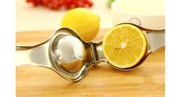 $enCountryForm.capitalKeyWord Australia - Stainless Steel Lemon Squeezer Extractor Press Reamers Juicer Hand Manual Orange Citrus Lime Lemon Fruit squeezers Kitchen Tools