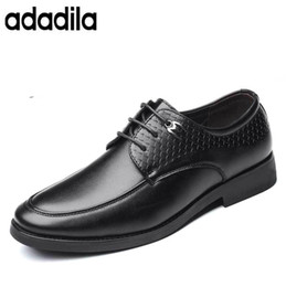 $enCountryForm.capitalKeyWord Canada - New Stylish Round Toe Men's Dress Shoes Ceremonial Formality Male Derby Shoes Lace-up Comfortable Male Footwear Outfit
