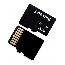 Gps Free For Smartphone Australia - J-boxing Micro SD Card 16GB Class 10 TF Flash Memory Card 16 GB for Smartphone Camera Tablet PC GPS Speaker MP3 MP4 Drone Free SD Adapter