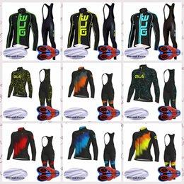 $enCountryForm.capitalKeyWord Australia - ALE team Winter Thermal Fleece Cycling long Sleeves jersey bib pants sets outdoors mens Bike Comfortable Clothes Q82114