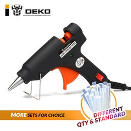 $enCountryForm.capitalKeyWord NZ - DEKO 30 80W 120W 100 240(V) EU Plug Hot Melt Glue Gun with Glue Stick Industrial Guns Thermo Electric Heat Temperature Tool