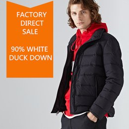 0293eb4bf56 Men s Winter Clothing Thick Puffer Jacket 95% Duck Down Packable Outerwear  Down Coat Classic Parka Size S-3XL Free Shipping