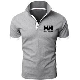 $enCountryForm.capitalKeyWord Australia - New Fashion Helly Hansen Printed Men Polo Shirt Lapel Collar Slim Fit Tops Casual Classic Male Polos Shirts S-5XL