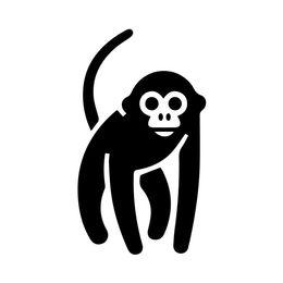 Zoo Sticker UK - Monkey Decal Window Bumper Sticker Car Decor Ape Gorilla Wildlife Zoo Animal Kid