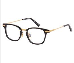 19b6730d1 New square-shape unisex eyewear frame with demo lenses ultralight quality metal  frame 50-20-145 for myopia reader prescription glasses