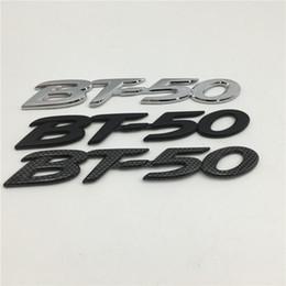 $enCountryForm.capitalKeyWord NZ - Black carbon   silver   Black For Mazda BT50 BT-50 Emblem Rear Trunk Badge Logo Sticker Car Accessories