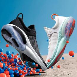 Multi canvas shoes online shopping - 2020 Joyride Run FK Mens Women Running Shoes Triple Black White Platinum Racer Blue Designers Sports Sneakers Utility Size