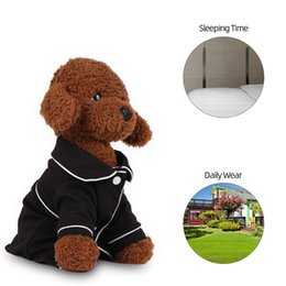 small teddy clothes UK - Hot New Dog Shirt Soft Breathable Spring Summer Stylish Small Dog Clothes for Bichon Frise Teddy Puppies Dog Accessories