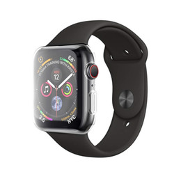 $enCountryForm.capitalKeyWord UK - Apple Watch 4 Case With Buit in TPU Screen Protector-All Around Protective Cases HD Clear Ultra-Thin Cover For Apple iwatch Series 4