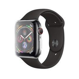 ТПУ полностью мягкий чехол для Apple Watch Series 4 40мм / 44мм чехол протектор
