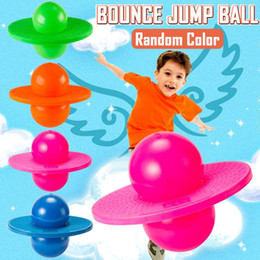 Wholesale Pogo Ball Hopper Sport High Balance Bounce Jump Board Ball Fitness with Inflating Pump for Kids