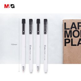 $enCountryForm.capitalKeyWord Australia - M&G ultra-simple elegant gel pen for school supplies writing high quality 0.5mm black office stationery gift pen for friend girl
