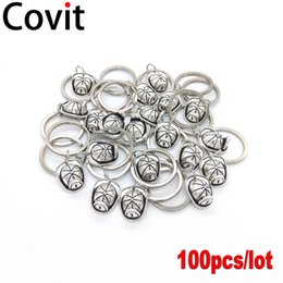 Hat keycHains online shopping - 100pcs Fire Cap Metal Keychains Best Friend Gift DIY Pendant Antique Silver Plated Fireman Hat Men Women Lovers Key Rings