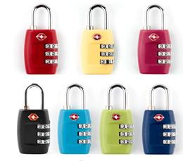Resettable padlocks online shopping - New TSA Digit Code Combination Lock Resettable Customs locks Travel locks Luggage Padlock Suitcase High Security SN2559