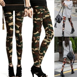 c4f3ae38b49f2 Hot Sale Women Fashion Casual Camo Cargo Leggings Casual Camouflage Trousers  New