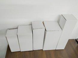 белая коробка бумажная коробка упаковки белая глянцевая ламинация коробки белой бумаги случай для чашек тумблеры упаковки на Распродаже