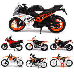 Wholesale Maisto Motorcycle Model Toy Alloy Motorbike EXC SXF Duke RC SX Cars Toys For Children Decoration Gift