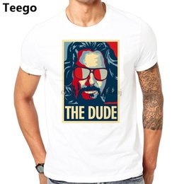 t shirt dude UK - THE BIG LEBOWSKY DUDE T-shirt cotton Fashion Brand t shirt men new high quality