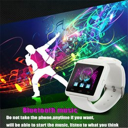 $enCountryForm.capitalKeyWord Australia - Women Men Unisex U8 Electronic Watches Sports Smartwatch With Bluetooth Pedometer For Android IPhone
