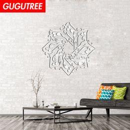 $enCountryForm.capitalKeyWord Australia - Decorate Home 3D Muslim letter cartoon mirror art wall sticker decoration Decals mural painting Removable Decor Wallpaper G-421