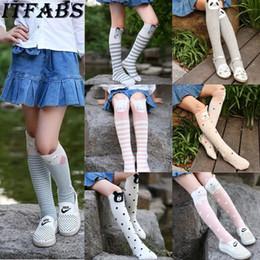 $enCountryForm.capitalKeyWord Australia - Christmas Cute Girl Kids Knee High Socks Stocking Cotton Baby Toddler Leg Warm Leggings