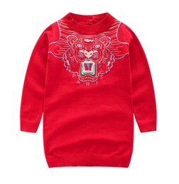 d4f0ad4dfd5b Modelos de explosión 2019 3-12 años de edad, rojo, padre-hijo cargado,  primavera y otoño, invierno, marea nueva, ropa de mujer, y suéter de madre,  swea