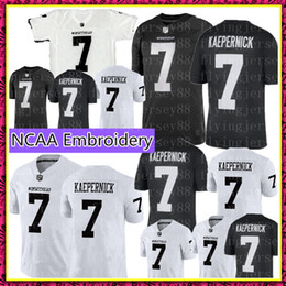 61cebc938 COLIN KAEPERNICK 7 IMWITHKAP JERSEY I M WITH KAP Mens Black White Double  Stiched Name And Number High Quanlity Football Jerseys