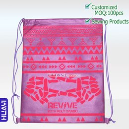 Wholesale String Pack Australia - whole sale,small order is welcome,eco travel bag,cutom back pack,reusable nonwoven drawstring bag
