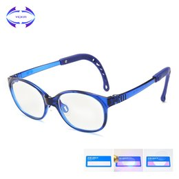 $enCountryForm.capitalKeyWord Australia - VCKA Children TR90 Silicone Glasses Frame Ultralight Eyeglass Kids Anti-blue light Spectacle Computer Game Protective Goggle