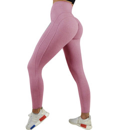 $enCountryForm.capitalKeyWord Australia - Sexy Yoga Pants Push Up Leggings Sport Women Fitness High Waist Gym Leggings Pink Black Gray for Women Fitness #1032633