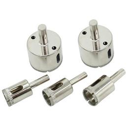 Großhandel Diamant-Lochsäge Bohrer-Werkzeug-Marmorglas-Diamanten Kernbohrer Bits Keramikfliesen-Perlen-Messer-Gläser-Dilatator