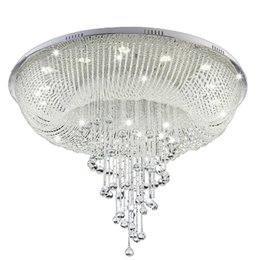 $enCountryForm.capitalKeyWord UK - New Modern Crystal Chandelier For Ceiling Living Room Lobby Crystal Lamp Luxury Home Lighting Fixture LED Lustres De Cristal