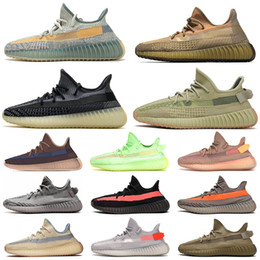 womens running shoes NZ - Kanye 2020 Eliada Running Shoes Size US 13 Mens Womens Israfil Asriel Desert Sage Cinder Earth Sulfur Sport Sneakers Kids Childrens Trainers