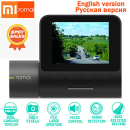 Voice Controlled Cameras Australia - Original XIAOMI Dash Cam Pro DVR 1944P HD Night Version Car Camera Smart Voice Control 140 FOV Function Parking Monito WIFI