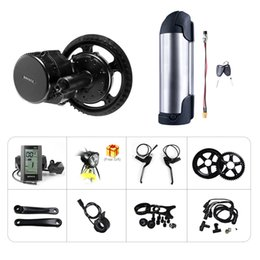 Cranks Bicycle Australia - 48V 10AH Kettle Lithium Battery Bafang 8fun BBS BBS01 BBS01B Mid Drive Crank Motor EBIKE Conversion Kit Electric Bicycle Middle Engine