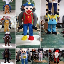 Ride Fancy Dress Australia - Ride on Me Mascot Costumes Carry Back Funny Animal Pants Fancy Dress Up Halloween Party Costumes Outdoor Toys