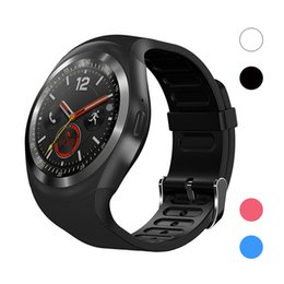 $enCountryForm.capitalKeyWord Australia - Y1 Bluetooth Smartwatch BT4.0 Smart Watch Full-Function Sync Smart Wrist Watches For iOS Apple Android Smartphone
